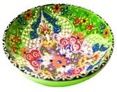 Turkish Ceramics~Large Bowl~green