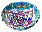 Turkish Ceramics~Large Bowl~blue