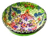 Turkish Ceramics~Medium Bowl~green