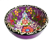 Turkish Ceramics~Small Bowl~purple