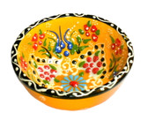 Turkish Ceramics~Small Bowl~yellow