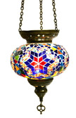 Turkish Glass Mosaic Lantern-#15
