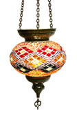 Turkish Glass Mosaic Lantern-#17