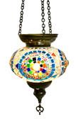 Turkish Glass Mosaic Lantern-#20