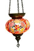 Turkish Glass Mosaic Lantern-#21