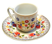 Turkish Porcelain Coffee Cup sq-1