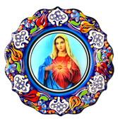 Turkish Ceramics-Ikona Series-Mary-plate diameter: 7inch (18cm)