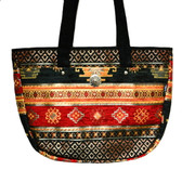 Turkish Velvet Handbag-7