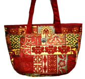 Turkish Velvet Handbag-1