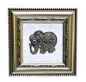 Elephant Figure Wall Decor-metal center piece