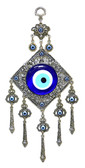 Evil Eye Wall Decor-metal/glass-11.5 inches (29cm)