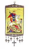 Wall Hanging-Large-Saint George