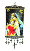 Wall Hanging-Large-Mary and baby Jesus-2