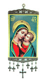 Wall Hanging-Large-Mary and baby Jesus-1