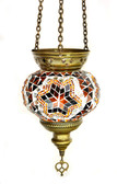 Turkish Glass Mosaic Lantern-medium-7