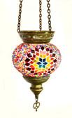 Turkish Glass Mosaic Lantern-medium-8