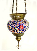 Turkish Glass Mosaic Lantern-medium-10
