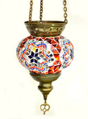 Turkish Glass Mosaic Lantern-medium-12