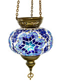 Turkish Glass Mosaic Lantern-#10