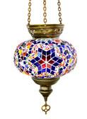 Turkish Glass Mosaic Lantern-#9