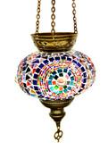Turkish Glass Mosaic Lantern-#8