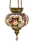 Turkish Glass Mosaic Lantern-#7