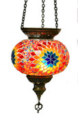 Turkish Glass Mosaic Lantern-#5