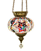 Turkish Glass Mosaic Lantern-#3