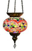 Turkish Glass Mosaic Lantern-#12