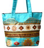 Turkish Velvet Handbag-18