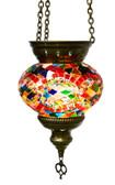 Turkish Glass Mosaic Lantern-medium-14