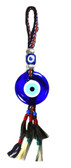 Evil Eye Wall Decor-with Handwoven Wool Strap