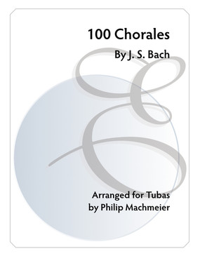 100 Chorales by J.S. Bach
