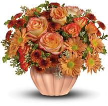 Joyful Hearth Bouquet
