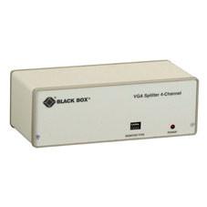 VGA 4-Channel Video Splitter Kit, 115-VAC