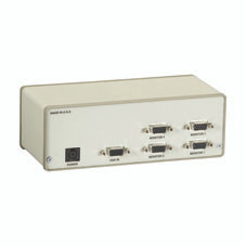 VGA 4-Channel Video Splitter, 115-VAC