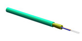 002T88-31180-29: Corning 2 Fiber MIC® Tight-Buffered Plenum Cable, 50 µm