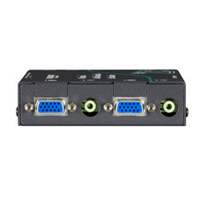 Wizard Multimedia Receiver with Dual Video/Stereo Audio Ports, CATx Daisychain Port, and Integral Deskew