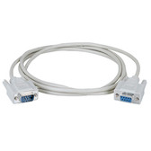 DB9 Serial Extension Cable, Male/Female, 6-ft. (1.8-m)