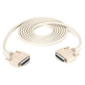 DB25 Extension Cable, DB25 Male, DB25 Male, 10-ft. (3.0-m)