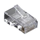 CAT5e Value Line Modular Plug, Unshielded, 100-Pak