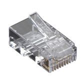 CAT6 Value Line Modular Plug, Unshielded, 50-Pak