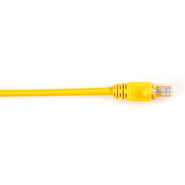 CAT5e Value Line Patch Cable, Stranded, Yellow, 2-ft. (0.6-m), 5-Pack