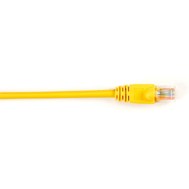 CAT5e Value Line Patch Cable, Stranded, Yellow, 4-ft. (1.2-m), 25-Pack