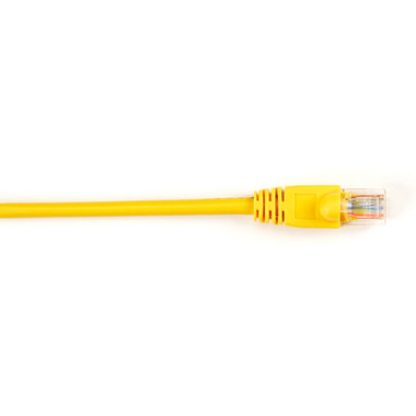 CAT5e Value Line Patch Cable, Stranded, Yellow, 15-ft. (4.5-m), 5-Pack