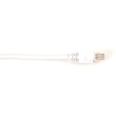 CAT5e Value Line Patch Cable, Stranded, White, 20-ft. (6.0-m), 25-Pack