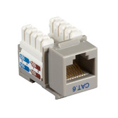 CAT6 Value Line Keystone Jack, Gray