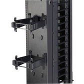 Elite  Vertical Cable Manager Rear Post & Gate Kit, (10) Sets, 6in