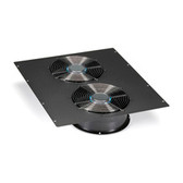 Dual 10in Fan (1100-cfm) Top Panel for Elite Cabinets