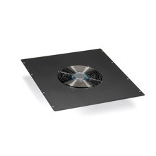 Single 10in Fan (550-cfm) Top Panel for Elite Cabinets, 220 VAC